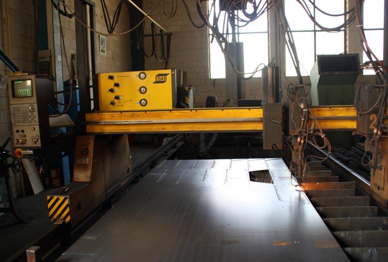 CNC-Brennschneidanlage
